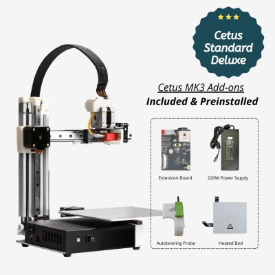 Cetus MK3 Standard with Add-ons Included & Preinstalled
