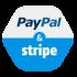 Paypal+Stripe